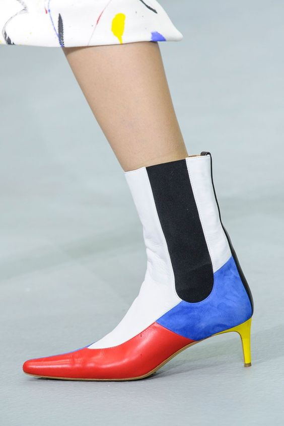Kitten heel ankle boots | Teatum Jones Spring '17 | Girlfriend is Better