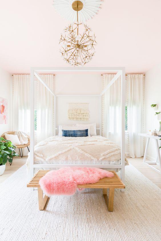 Soft pinks enhance love + relationships center | Feng Shui guide | Girlfriend is Better