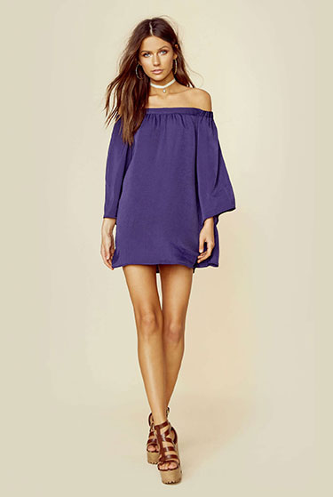 Tru Blu Miranda Mini Dress | Girlfriend is Better