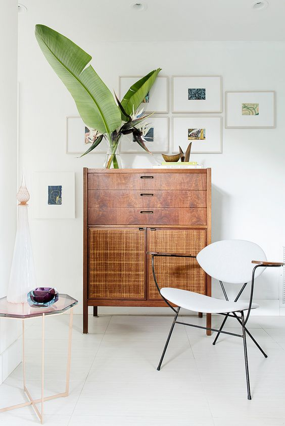 Use tall wood furniture in the family center of your home | Feng Shui decor | Girlfriend is Better