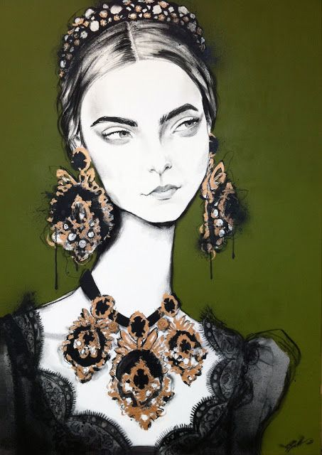 Fashion illustration by Pippa McManus | Girlfriend is Better
