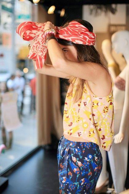 5 ways to wear a head scarf | Girlfriend is Better