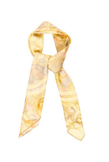 Hermès Brides de Gala en Finesse Silk Scarf | Polyvore