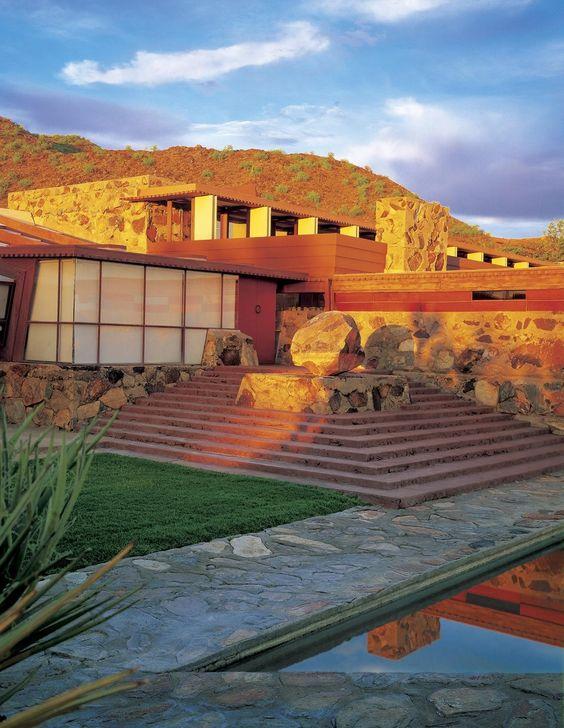 Frank Lloyd Wright Taliesin West in Scottsdale Arizona | Travel Guide | Girlfriend is Better