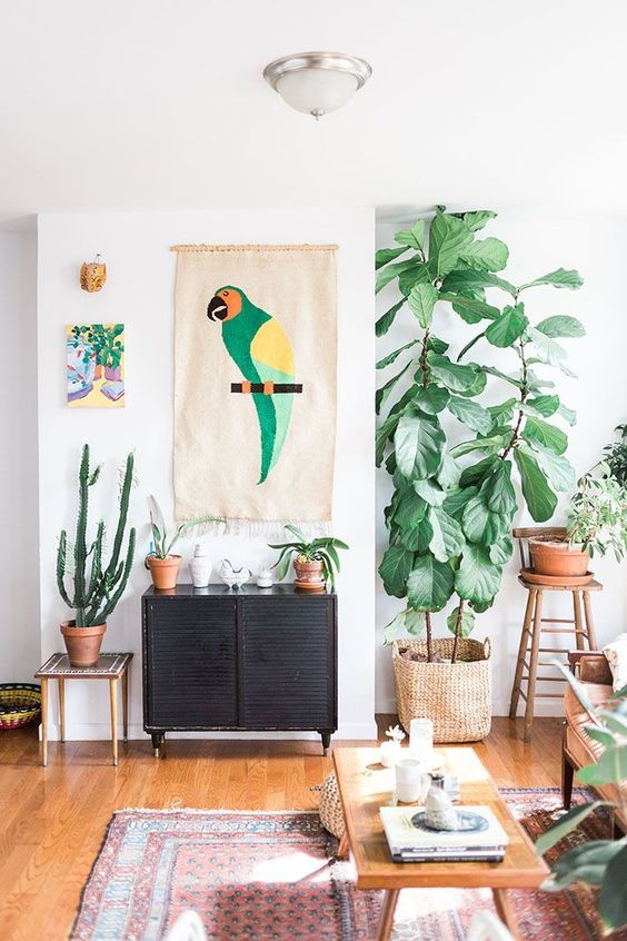 Natural decor with a tropical flair | Girlfriend is Better