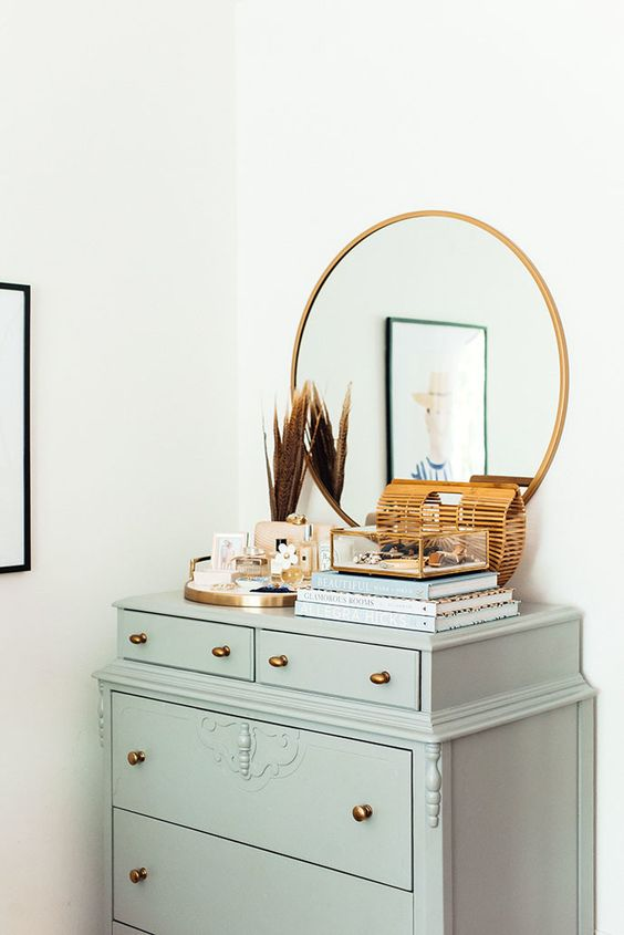 Round geometric mirrors | Mid-century modern | Girlfriend is Better
