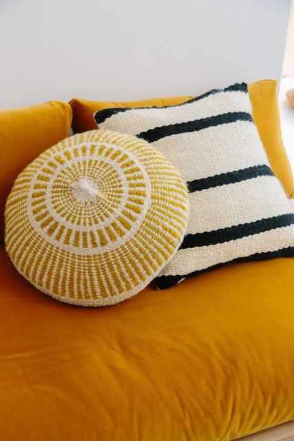 Pampa cushions add Bohemian charm to home decor | Girlfriend is Better