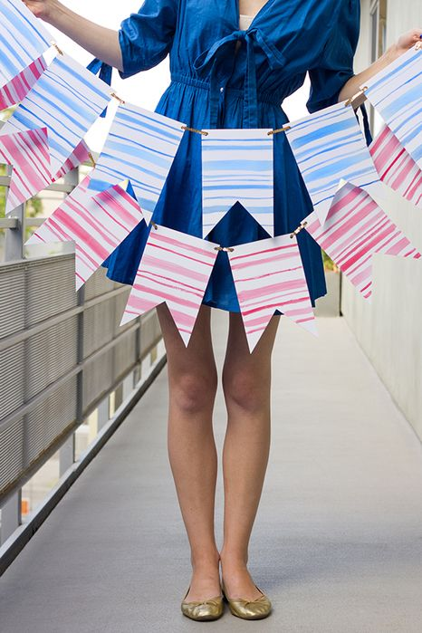 Party bunting for patios | Girlfriend is Better
