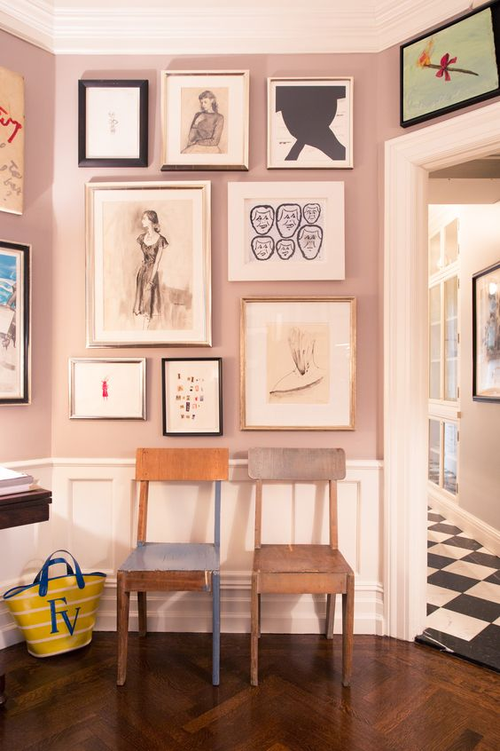 Portraits in Kate Spade's home gallery   Girlfriend is Better