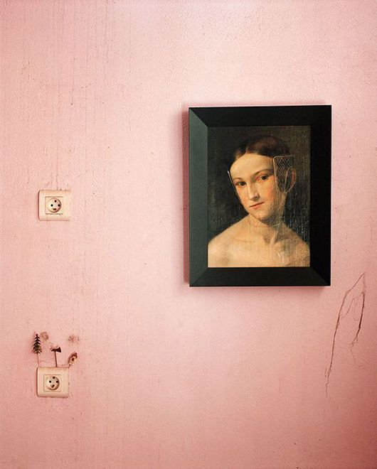 Vintage portraits for closets and secret spaces | Girlfriend is Better
