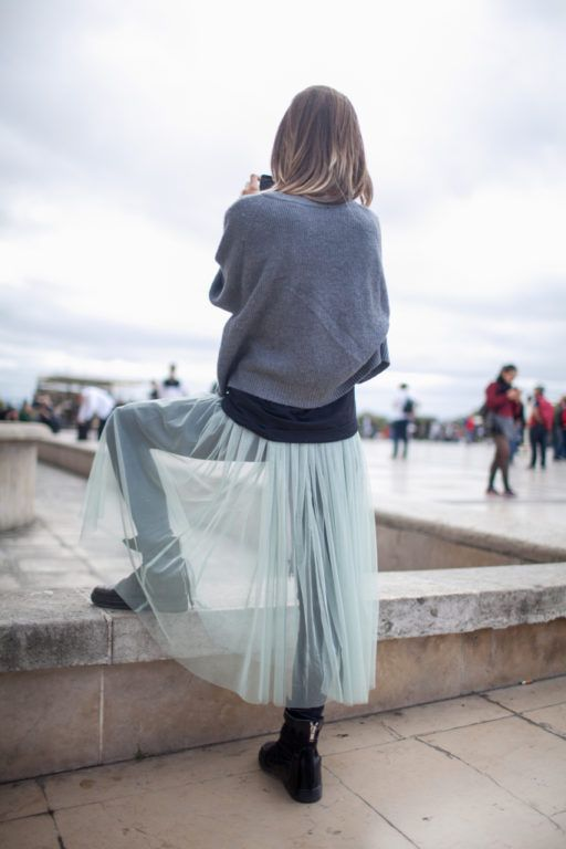 Slips layered outside jeans | Girlfriend is Better