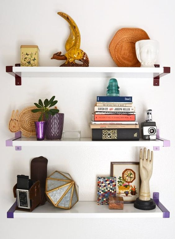 IKEA Hack: Paint open shelving fixtures | Girlfriend is Better