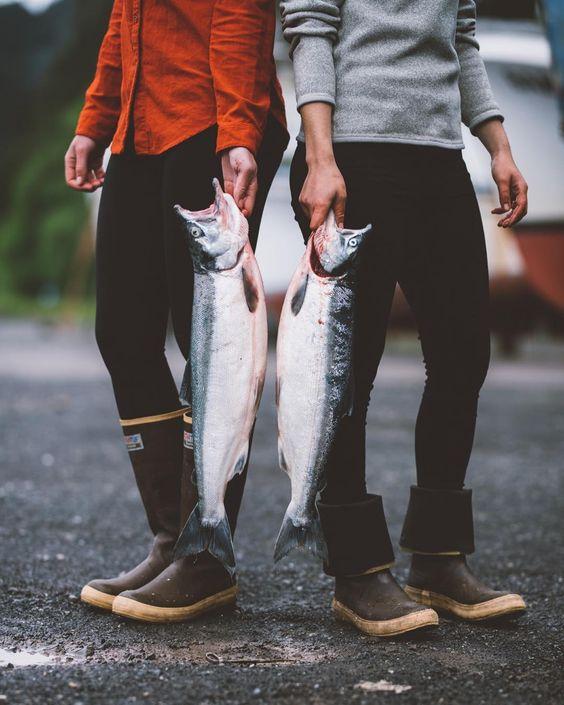 Fishing for salmon in Alaska | Travel Guide | Girlfriend is Better