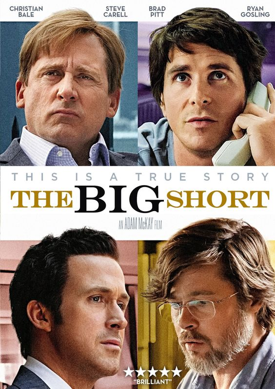 The Big Short | Inspired me to get my 72-hour kits done | Girlfriend is Better