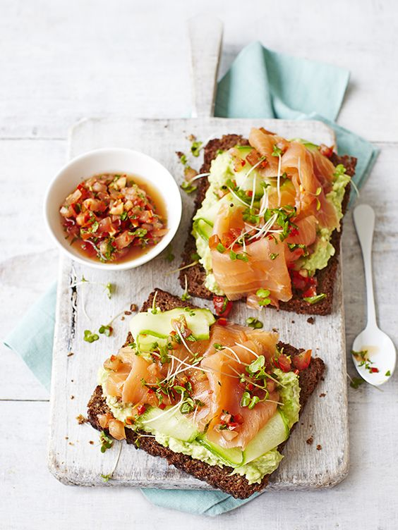 Avocado Toast With Smoked Salmon recipe | Girlfriend is Better