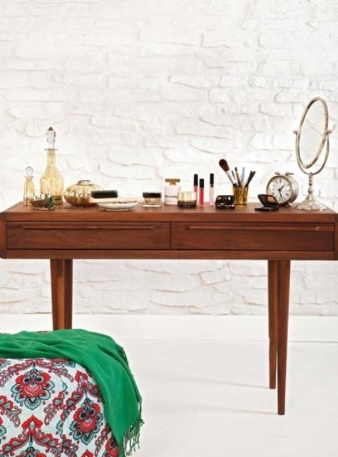 Mid-century modern dressing tables | Girlfriend is Better