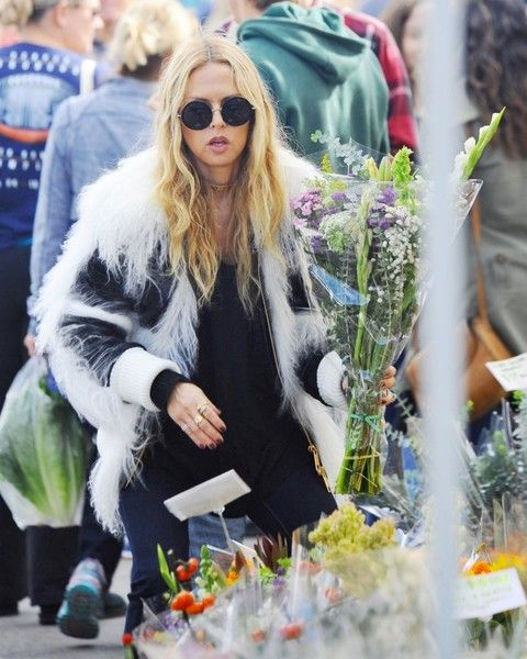 Rachel Zoe at The Original Farmer's Market in Los Angeles | Girlfriend is Better