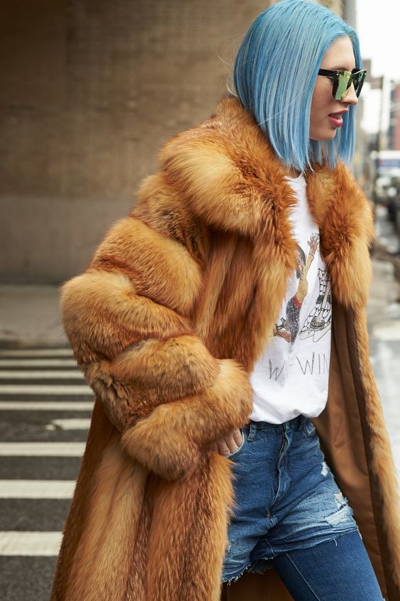 Full-length fur coats for Fall and Winter | Girlfriend is Better