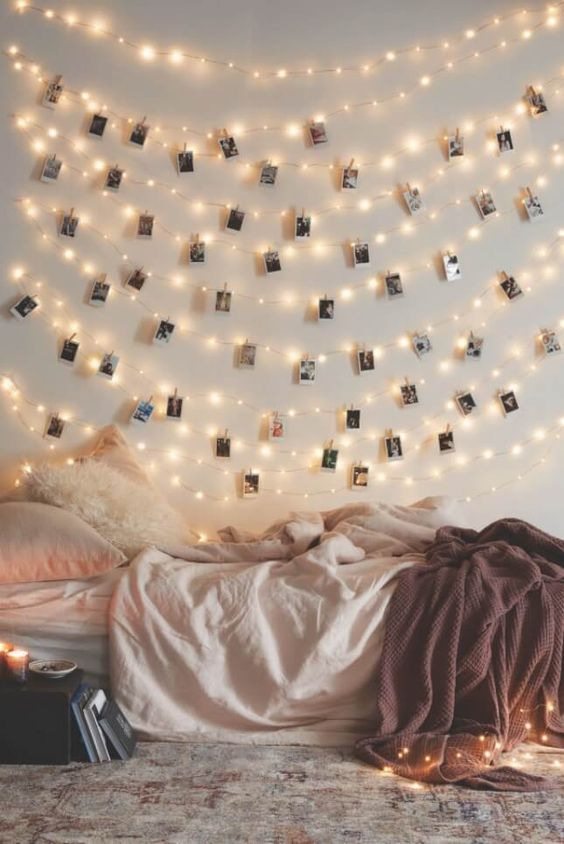 Hygge decor Christmas lights photo gallery | Girlfriend is Better