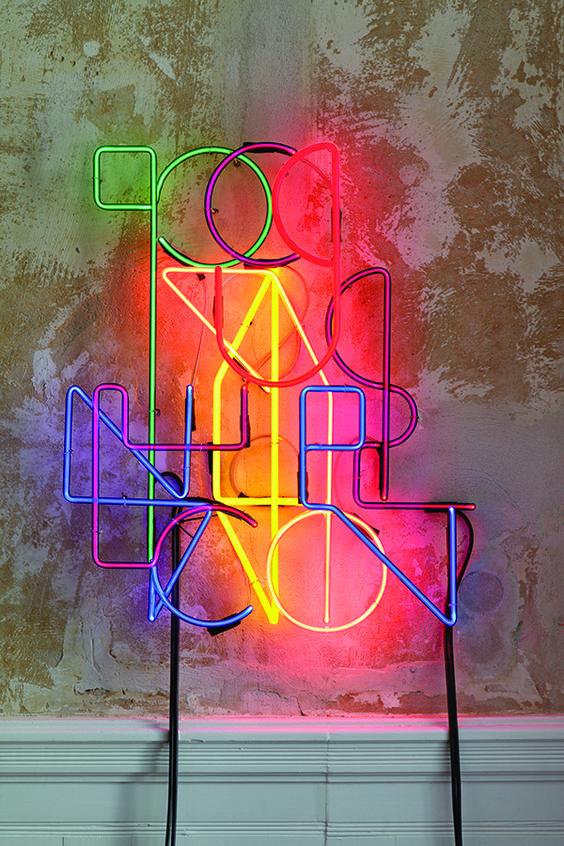 Floccinaucinihilipilification by Kerim Seiler | Neon