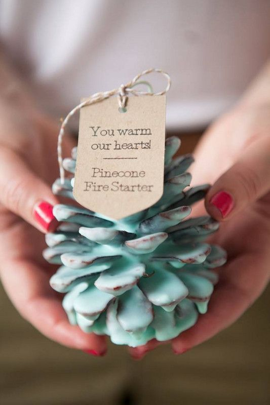 Pinecone firestarter Hygge | Love language gift ideas | Girlfriend is Better