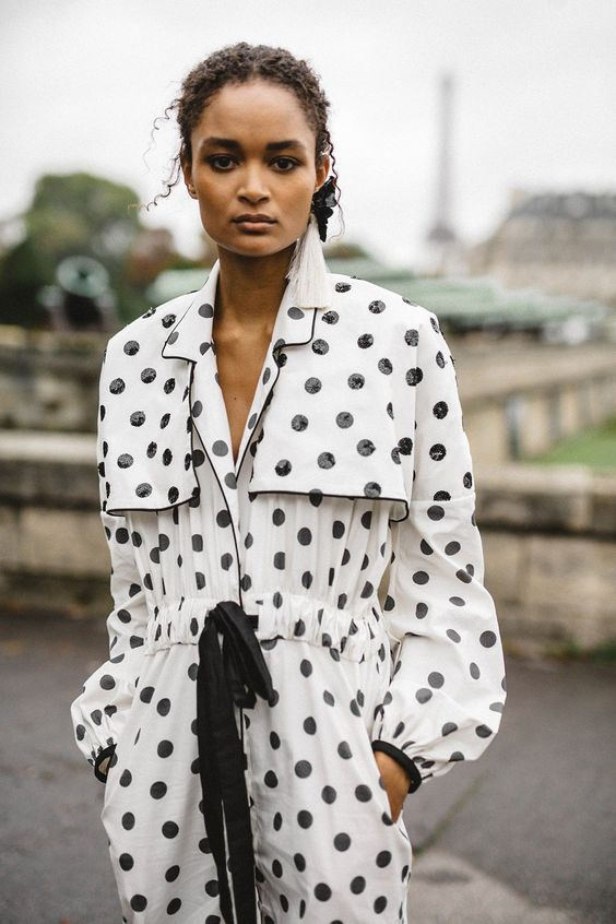 Johanna Ortiz polka dots jumpsuit | Girlfriend is Better