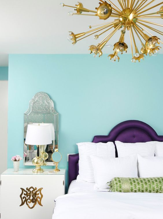 Sagittarius astrology home decor | Bedroom colors light blue and purple | Girlfriend is Better