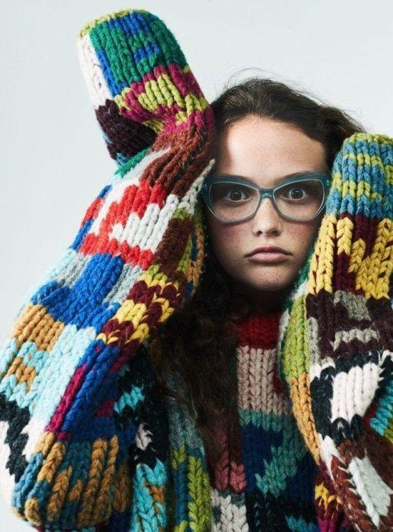 Teen Vogue Prada Mira Mikati | Winter fashion street style | Girlfriend is Better