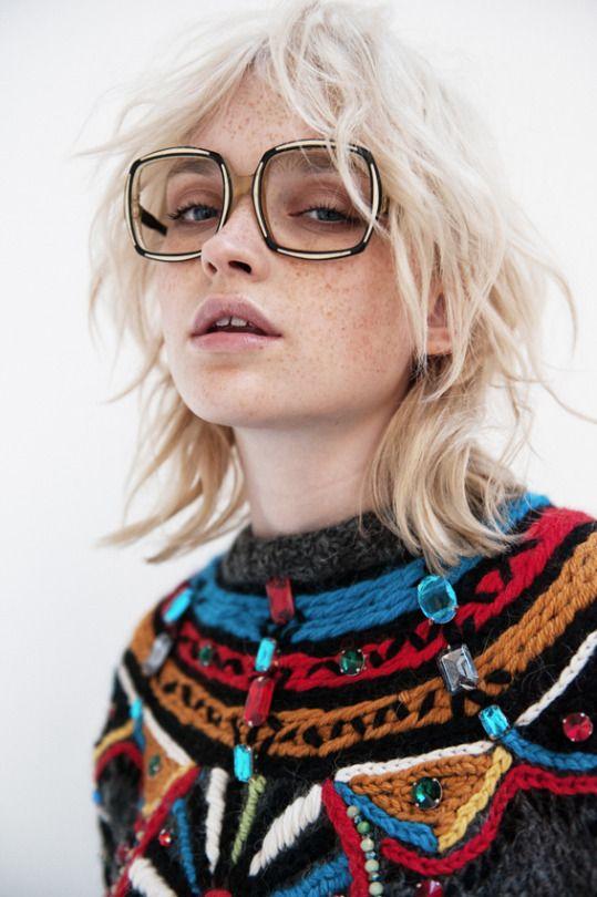 Stella Jean pre-fall | Winter fashion street style sunglasses | Girlfriend is Better