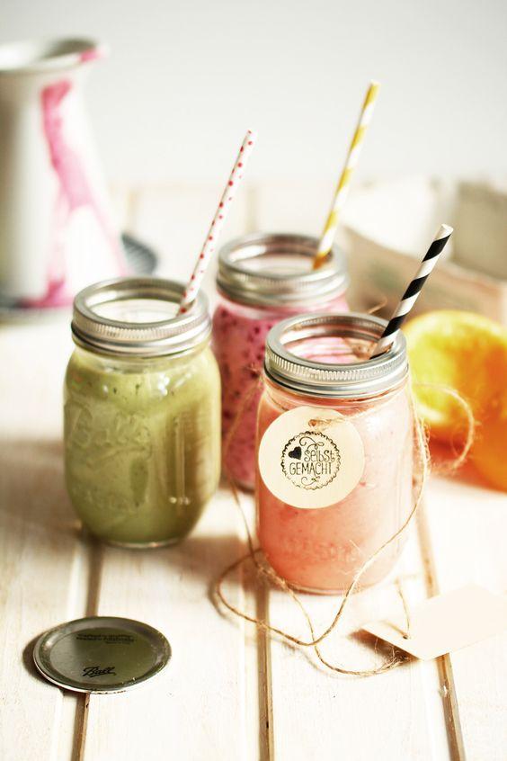 Winter smoothies | Strawberry banana, Matcha Green Tea, Blackcurrant | Girlfriend is Better