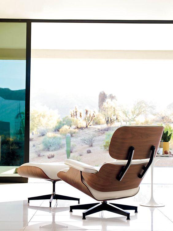 Eames Lounge Chair + Ottoman   Mid-century modern furniture   Girlfriend is Better