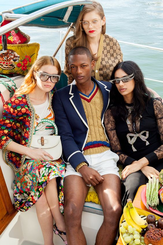 Gucci Cruise   Resort 2018 Spring fashion   Girlfriend is Better