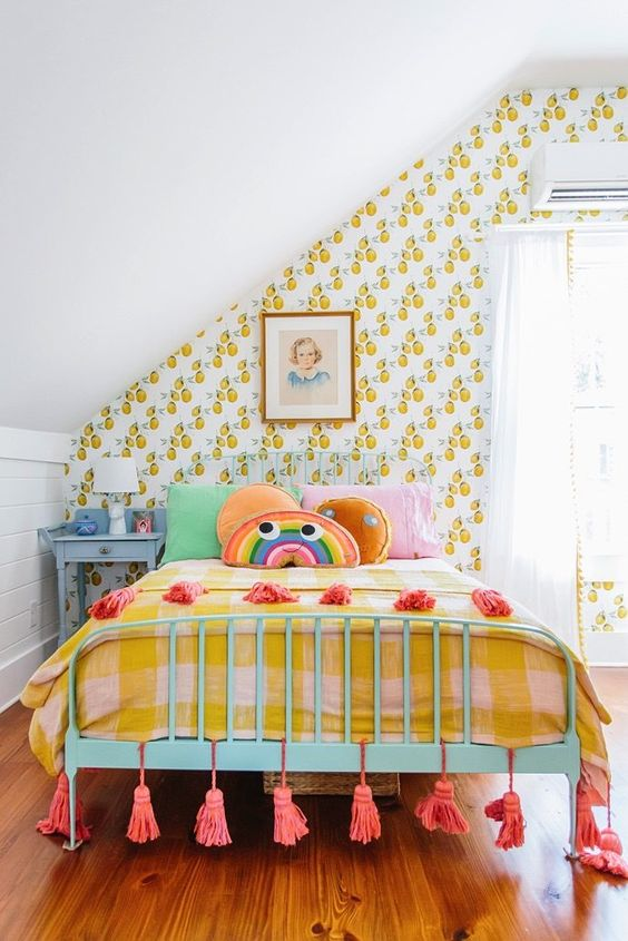 Bedroom Feng Shui | Colorful child's room | Girlfriend is Better