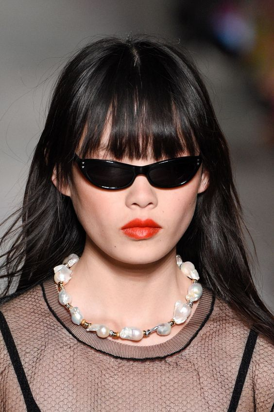 Sonia Rykiel kitten eye tiny sunglasses | Girlfriend is Better