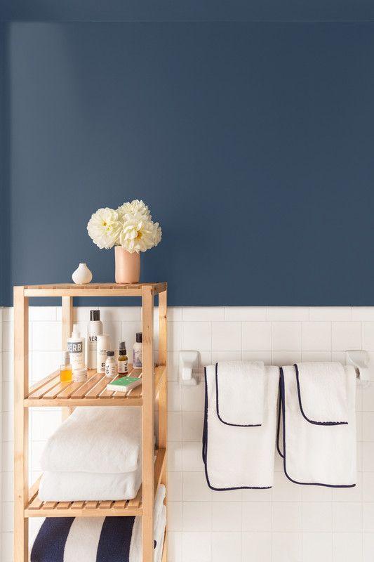 Organization ideas for bathrooms | Open shelf | Girlfriend is Better