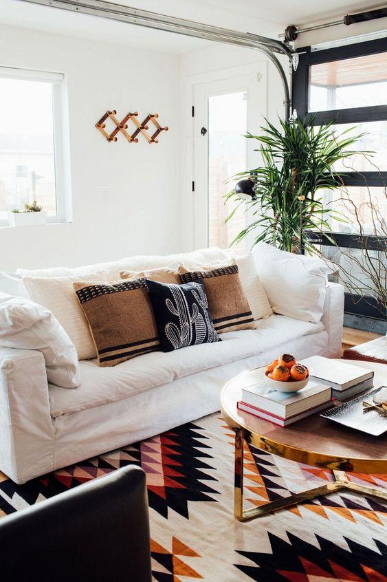 Bohemian area rugs Southwest print | Girlfriend is Better