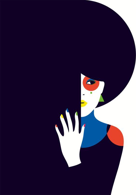 Malika Favre French Graphic Artist   Girlfriend is Better