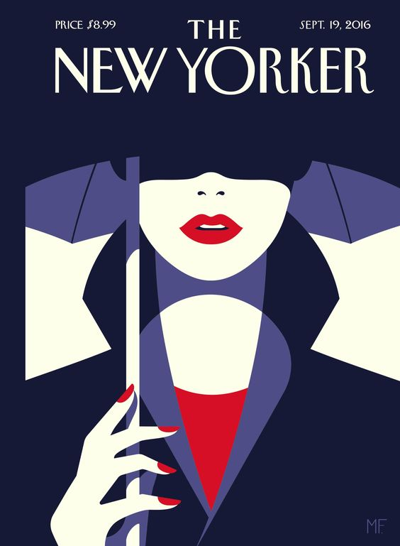 Malika Favre French Graphic Artist | New Yorker magazine | Girlfriend is Better