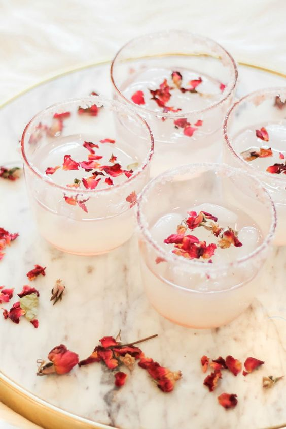 Margarita rose recipes | Rose water and tequila | Girlfriend is Better