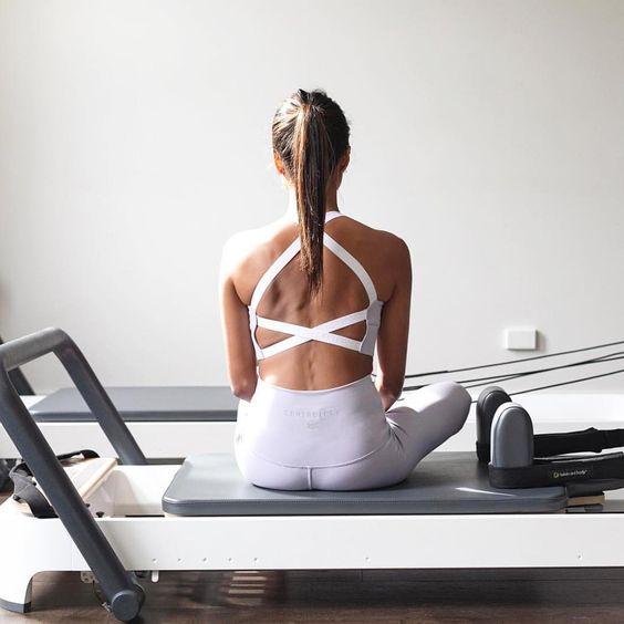 Pilates reformer health benefits | strengthen core exercises | Girlfriend is Better