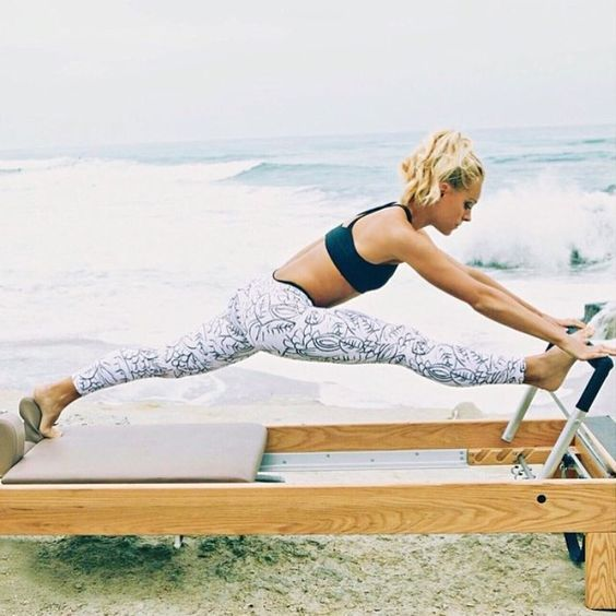 Pilates reformer exercises   Muscle toning strengthen core   Girlfriend is Better