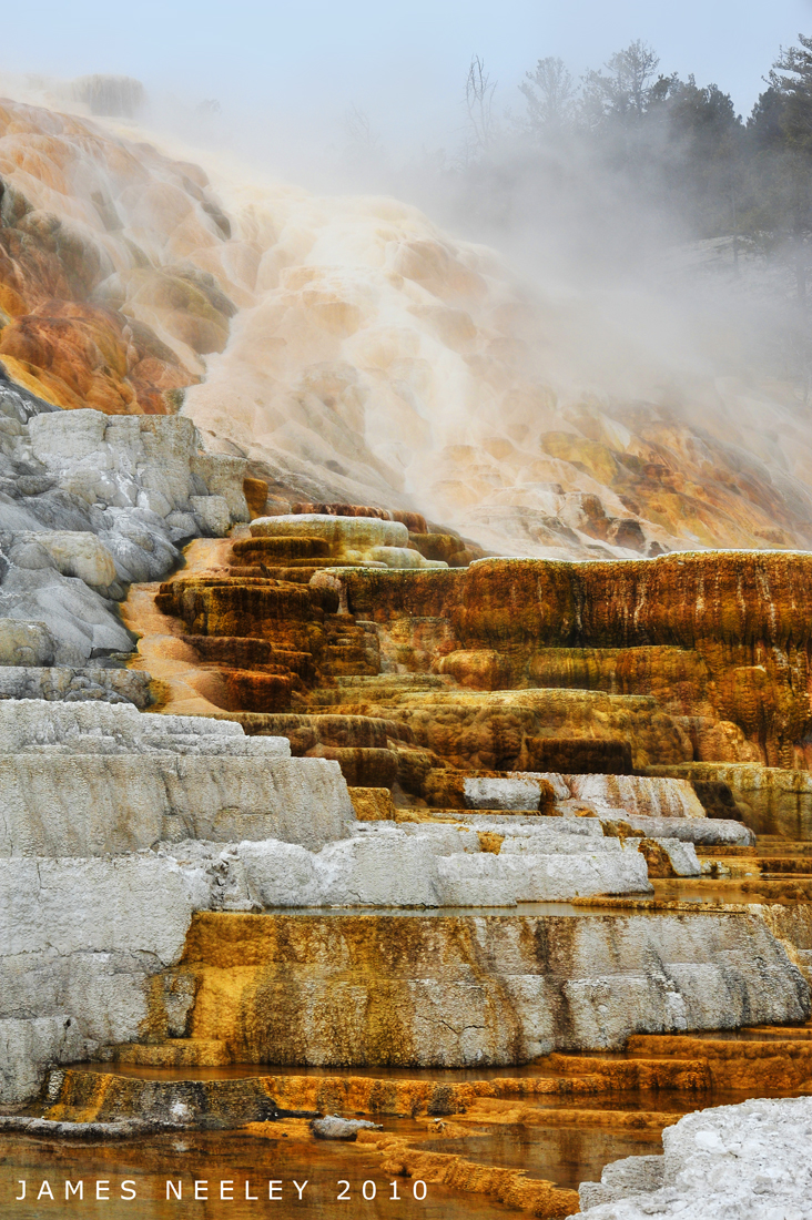 Yellowstone National Park day trip travel guide   Mammoth Hot Springs   Girlfriend is Better