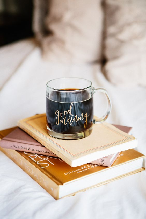 Summer Hygge coffee books bedroom cozy | Girlfriend is Better