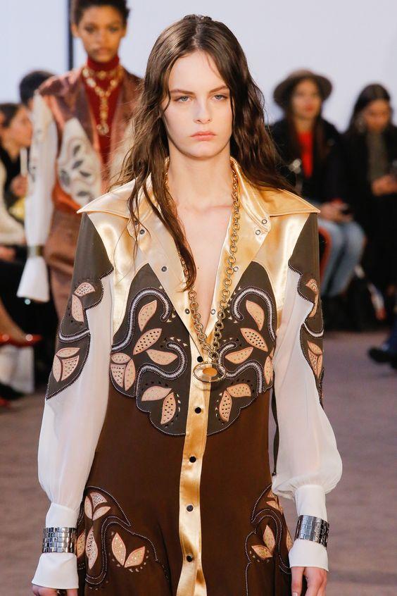 Ranch style blouse wide lapels bourgeois bohemian | Girlfriend is Better