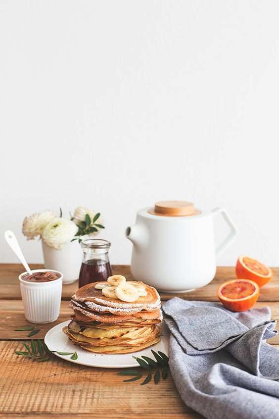 Fall Hygge breakfast crepes simple abundance | Girlfriend is Better