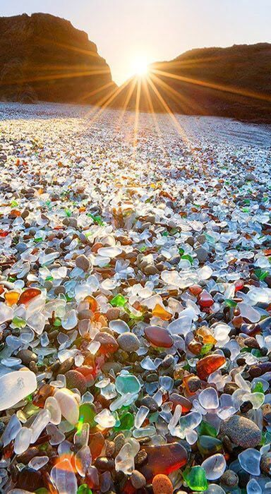 Fort Bragg California weekend coast trip | sea Glass Beach | Girlfriend is Better