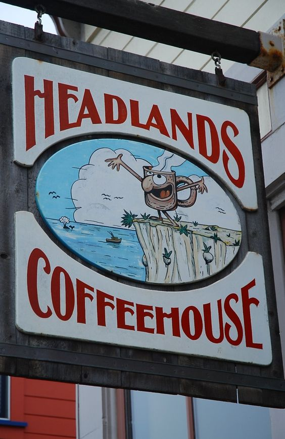 Fort Bragg California coastal weekend travel guide | Headlands Coffeehouse | Girlfriend is Better
