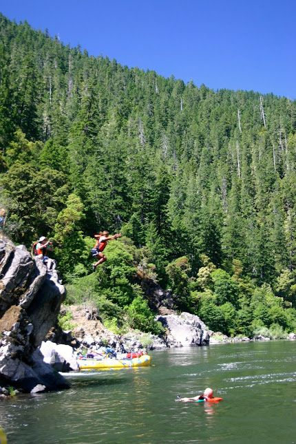 Union Creek Campground Oregon   rafting Rogue River   Girlfriend is Better
