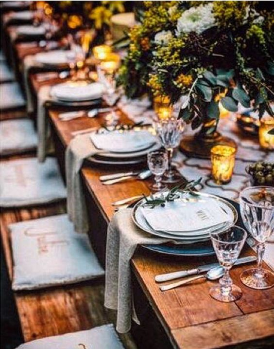 outdoor tablescapes Fall dinner party   Girlfriend is Better