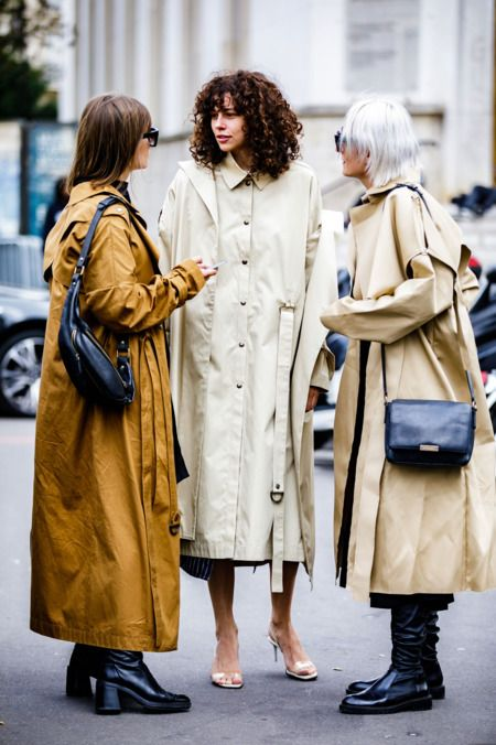 full-length coats belted trench duster camel beige | Girlfriend is Better